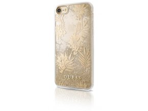 Pouzdro / kryt pro Apple iPhone 7 / 6s / 6 - Guess, Palm Spring Gold