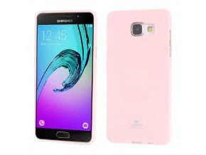 Pouzdro / kryt pro Samsung GALAXY A5 (2016) A510 - Mercury, Jelly Pink