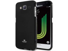 Pouzdro / kryt pro Samsung GALAXY J3 (2016) J3109 - Mercury, Jelly Black
