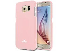 Pouzdro / kryt pro Samsung Galaxy S6 - Mercury, Jelly Pink
