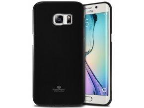 Pouzdro / kryt pro Samsung Galaxy S6 EDGE - Mercury, Jelly Black