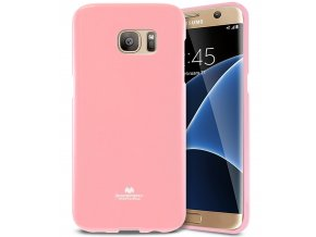 Pouzdro / kryt pro Samsung Galaxy S7 EDGE - Mercury, Jelly Pink