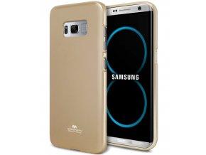 Pouzdro / kryt pro Samsung Galaxy S8 - Mercury, Jelly Gold