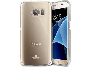 Pouzdro / kryt pro Samsung Galaxy S7 - Mercury, Jelly Transparent