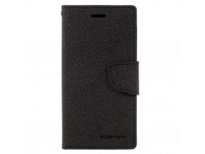 Pouzdro / kryt pro Samsung GALAXY A3 (2017) A320 - Mercury, Fancy Diary Black/Black