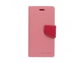 Pouzdro / kryt pro Samsung GALAXY A3 (2017) A320 - Mercury, Fancy Diary Pink/Hotpink