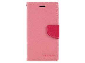 Pouzdro / kryt pro Samsung GALAXY A5 (2017) A520 - Mercury, Fancy Diary Pink/Hotpink
