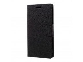 Pouzdro / kryt pro Samsung Galaxy S7 EDGE - Mercury, Fancy Diary Black/Black