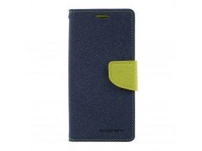 Pouzdro / kryt pro Samsung Galaxy S8 - Mercury, Fancy Diary Navy/Lime