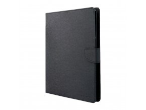 Pouzdro / kryt pro Apple iPad 2 / 3 / 4 - Mercury, Fancy Diary Black/Black
