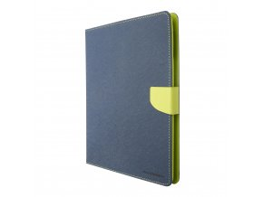 Pouzdro / kryt pro Apple iPad 2 / 3 / 4 - Mercury, Fancy Diary Navy/Lime