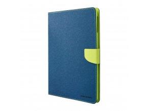 Pouzdro / kryt pro Apple iPad Air 1 - Mercury, Fancy Diary Navy/Lime