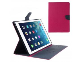 Pouzdro / kryt pro Apple iPad Air 1 - Mercury, Fancy Diary Hotpink/Navy