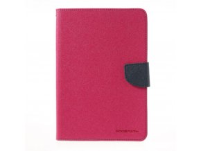 Pouzdro / kryt pro Apple iPad mini 4 - Mercury, Fancy Diary Hotpink/Navy