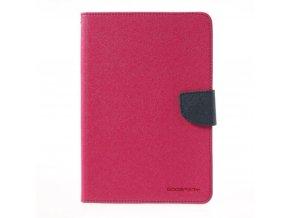 Pouzdro / kryt pro Apple iPad mini 4 - Mercury, Fancy Diary Hotpink/Navy
