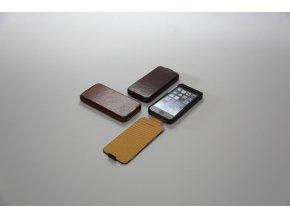 Pouzdro / kryt pro Apple iPhone 5 / 5S / SE - AVOC, TOSCANA FOLDER WINE