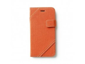 Pouzdro / kryt pro Apple iPhone 6 Plus / 6S Plus - Zenus, Cambridge Diary Orange
