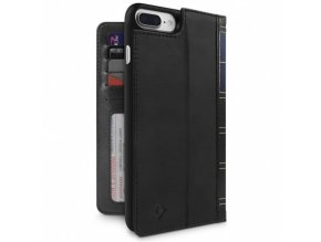 Pouzdro / kryt pro iPhone 7 Plus / 8 Plus - TWELVESOUTH, BOOKBOOK BLACK
