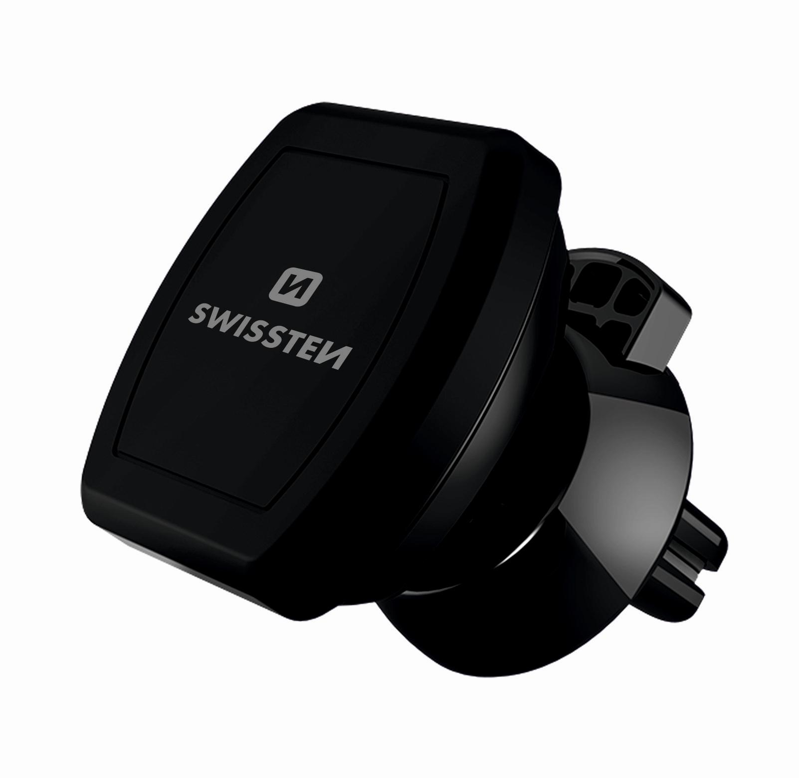 Magnetický držák do mřížky ventilace pro iPhone - SWISSTEN, S-GRIP M3