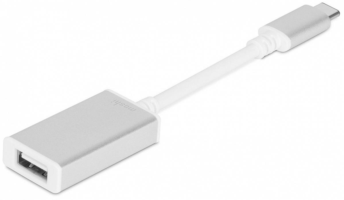 Redukce / adaptér - Moshi, USB-C to USB-A Female