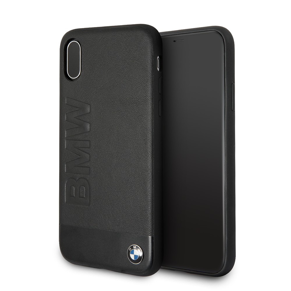 Ochranný kryt pro iPhone X - BMW, Signature Back Black