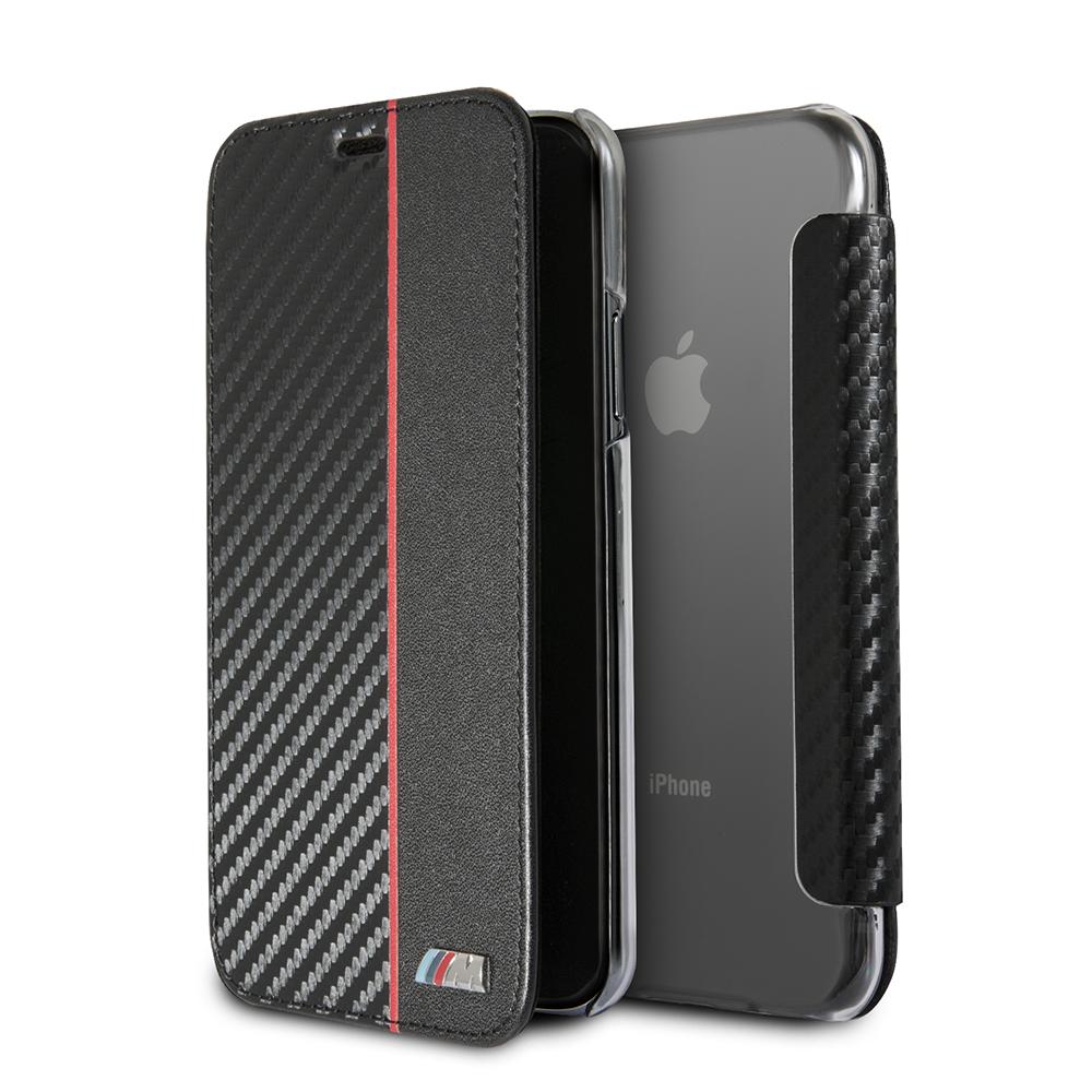 Ochranný kryt / pouzdro pro iPhone X - BMW, Carbon Book Red