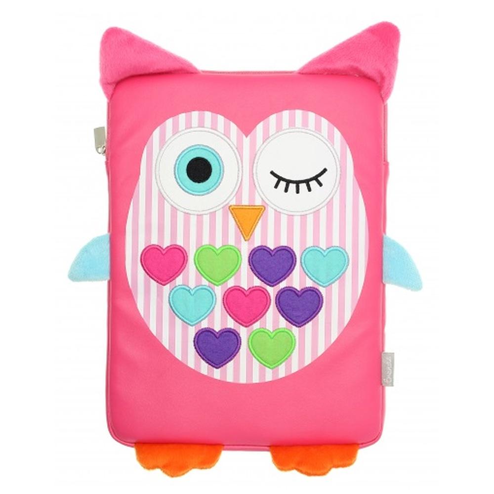 Pouzdro / obal pro iPad 2/3/4 a iPad Air 1/2 a iPad 2017 - MY DOODLES, OWL