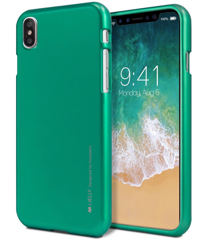 Ochranný kryt pro iPhone X - Mercury, i-Jelly Green