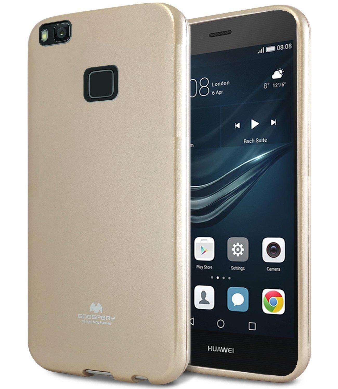 Pouzdro / kryt pro Huawei P9 LITE (2016) - Mercury, Jelly Gold