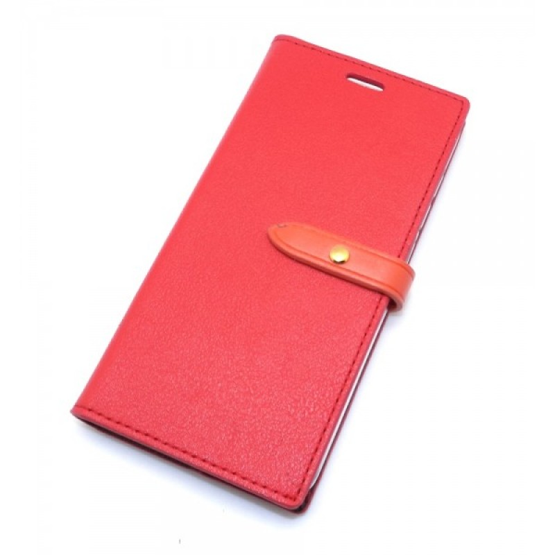 Pouzdro / kryt pro iPhone 5 / 5S / SE - Mercury, Romance Diary RED/ORANGE