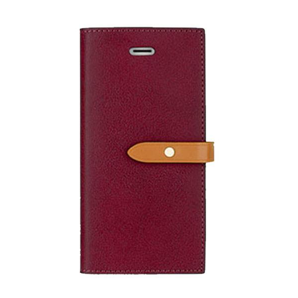 Pouzdro / kryt pro iPhone 5 / 5S / SE - Mercury, Romance Diary WINE/BROWN