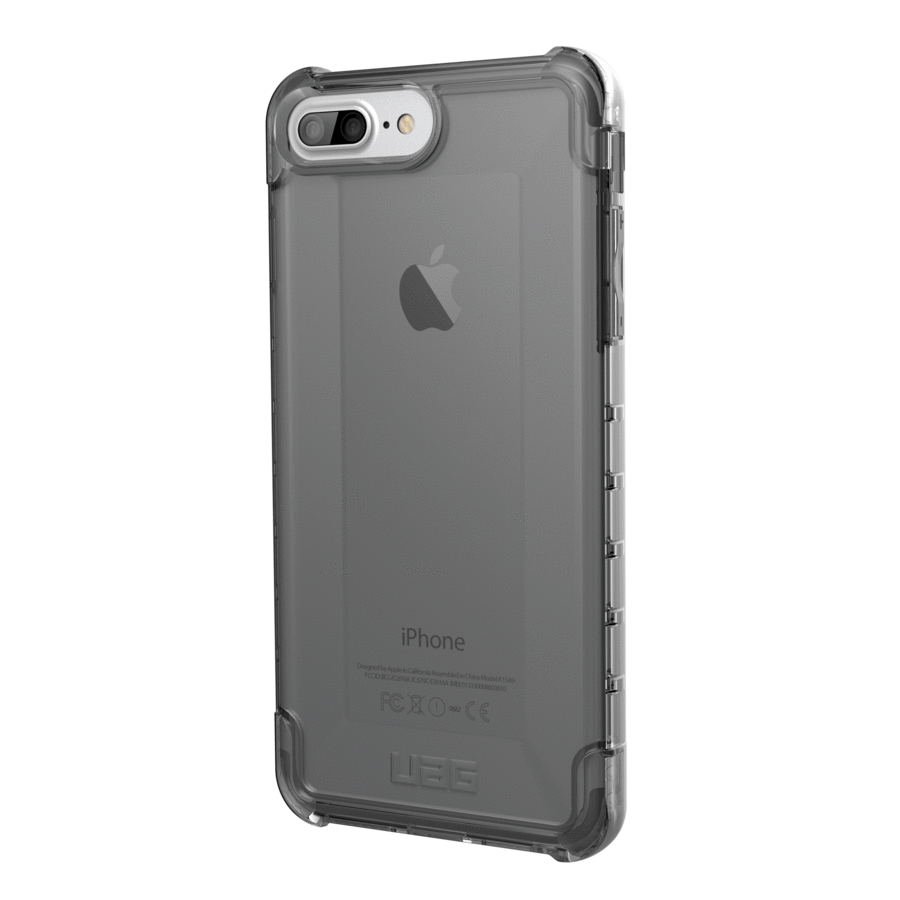 Ochranný kryt pro iPhone 8 PLUS / 7 PLUS / 6S PLUS / 6 PLUS - UAG, Plyo Ash Smoke