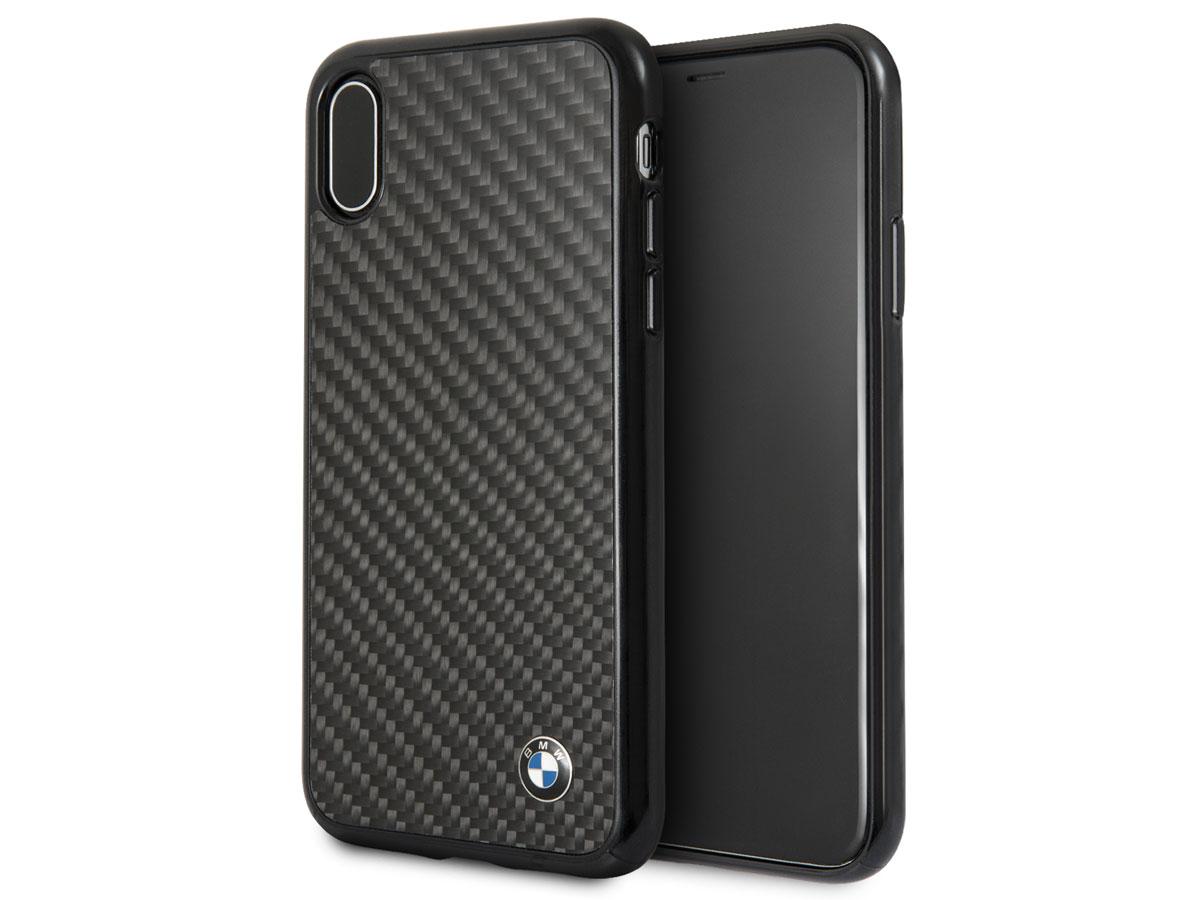Ochranný kryt pro iPhone X - BMW, Signature Back Carbon