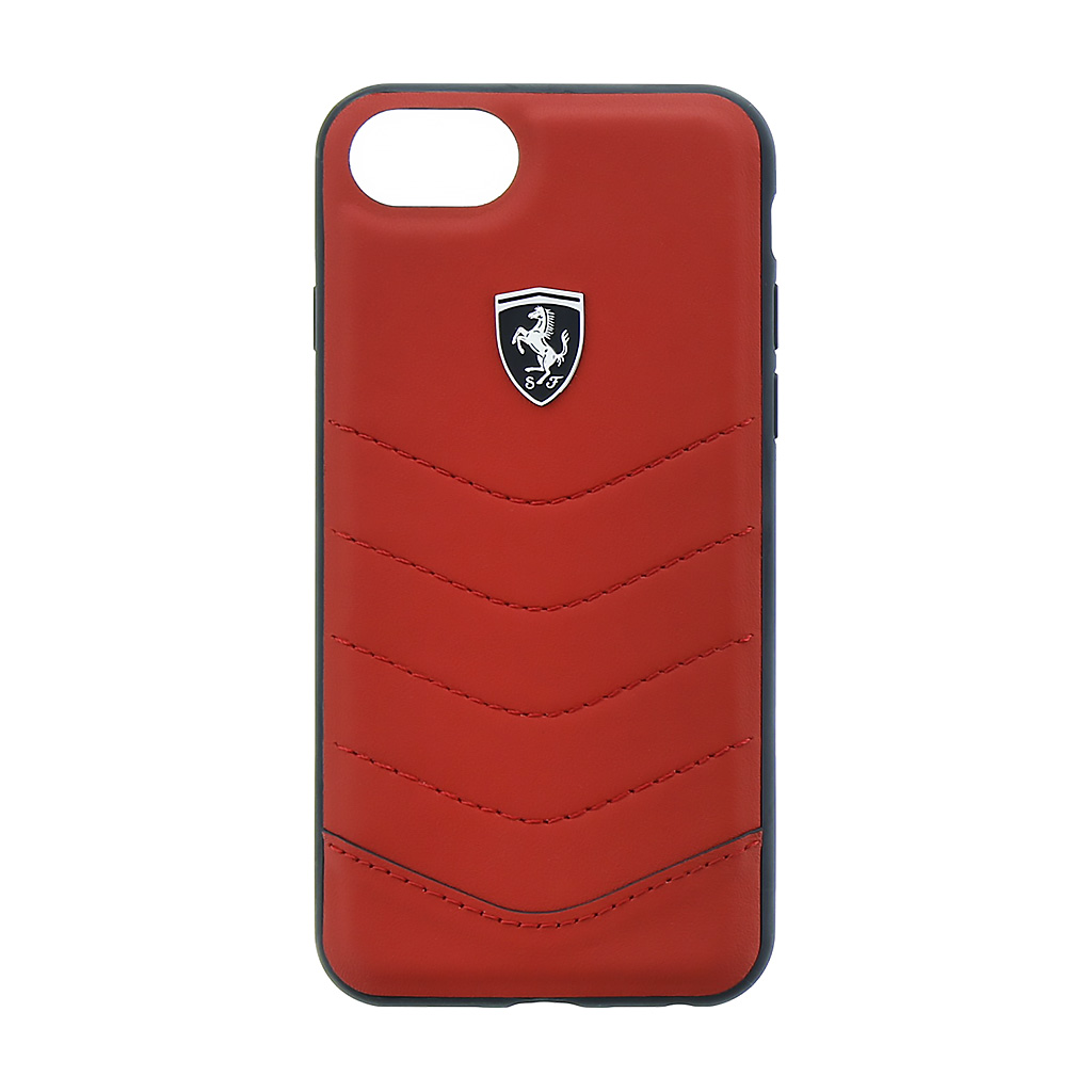 Pouzdro / kryt pro iPhone 8 / 7 / 6S / 6 - Ferrari, Heritage Back Red