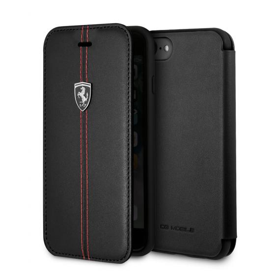 Pouzdro / kryt pro iPhone 8 / 7 / 6s / 6 - Ferrari, Heritage Book Black