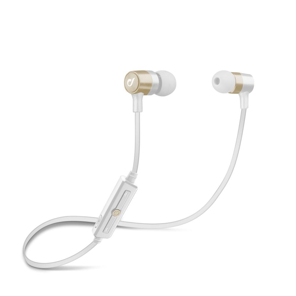 Bezdrátová sluchátka pro iPhone a iPad - Cellularline, Unique Design Gold