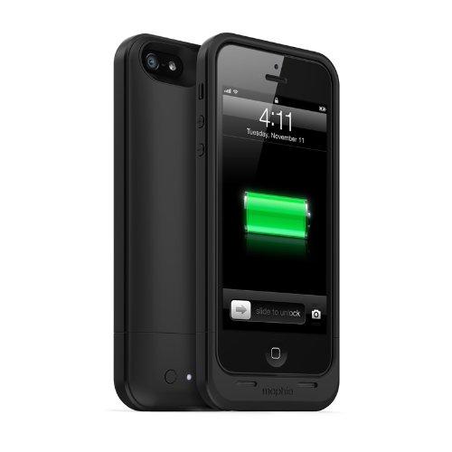 Nabíjecí pouzdro pro iPhone 5 / 5S / SE - Mophie, Juice Pack Air 1700mAh Black