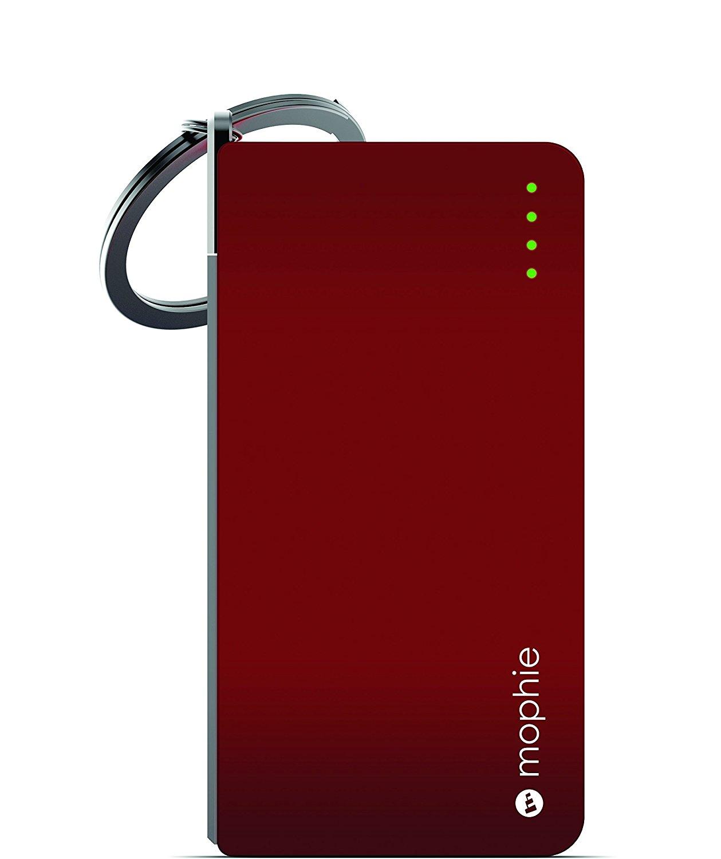 Externí baterie s konektorem Lightning pro iPhone - Mophie, Powerstation Reserve 1350mAh Red