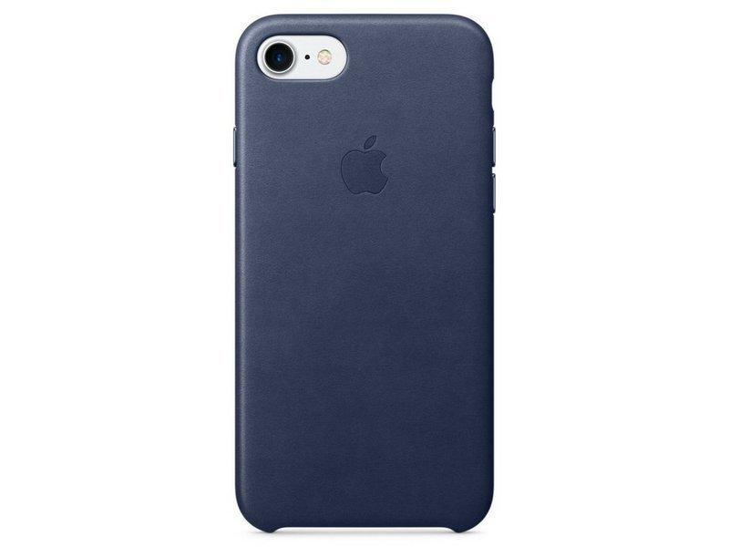 Ochranný kryt pro iPhone 7 - Apple, Leather Case Midnight Blue