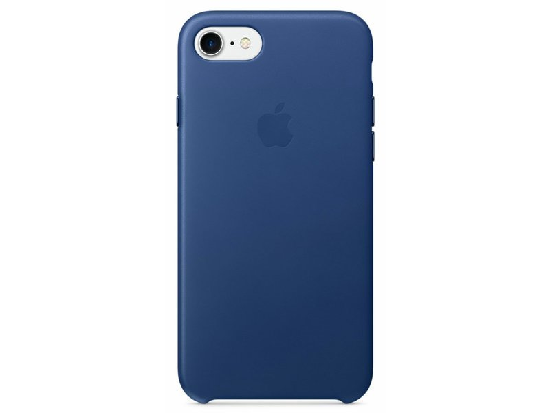 Ochranný kryt pro iPhone 7 - Apple, Leather Case Sapphire