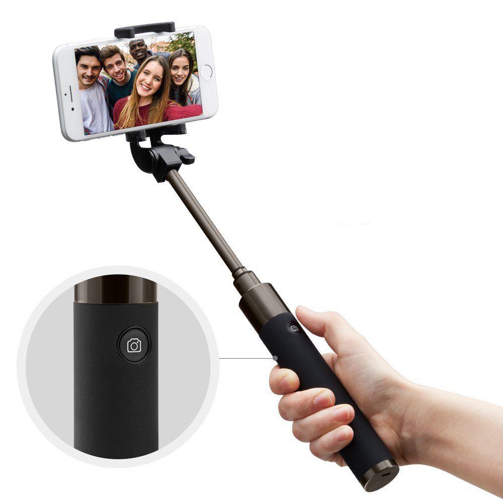 Bluetooth selfie tyč pro iPhone - Spigen, Velo S530W