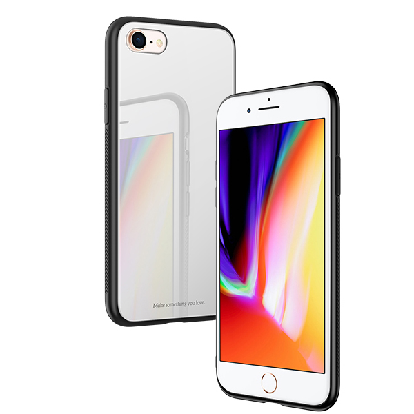 Ochranný kryt pro iPhone 7 / 8 - HOCO, Vitreous Shadow Silver