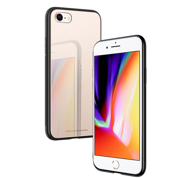 Ochranný kryt pro iPhone 7 / 8 - HOCO, Vitreous Shadow Gold