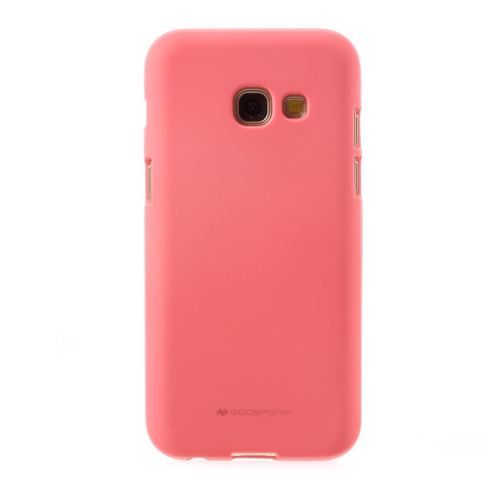 Pouzdro / kryt pro Samsung GALAXY A3 (2017) A320 - Mercury, Soft Feeling Pink