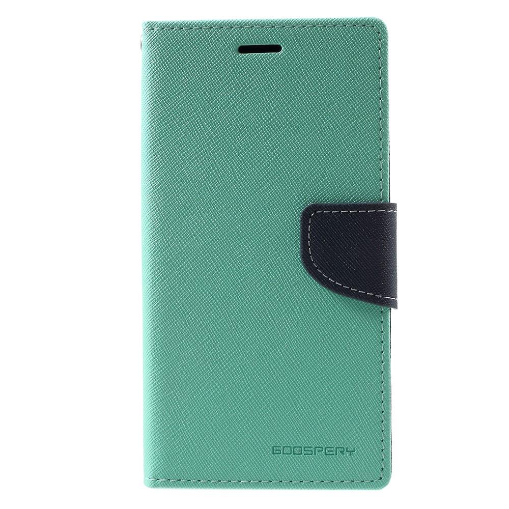 Pouzdro / kryt pro Samsung GALAXY J7 (2017) J730 - Mercury, Fancy Diary MINT/NAVY