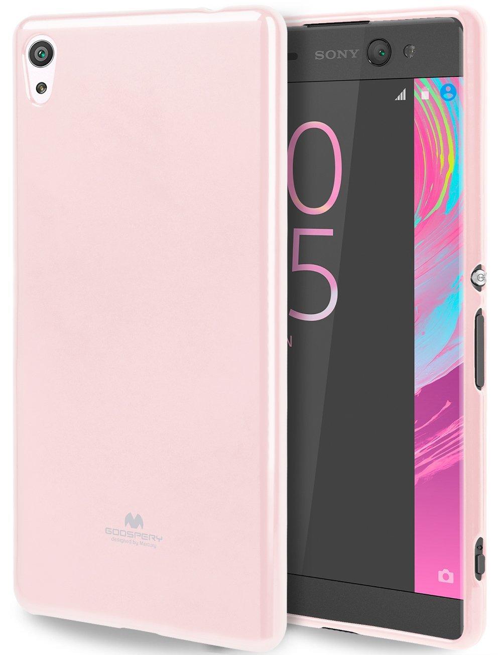 Pouzdro / kryt pro SONY XPERIA XA1 G3121 - Mercury, Jelly Pink