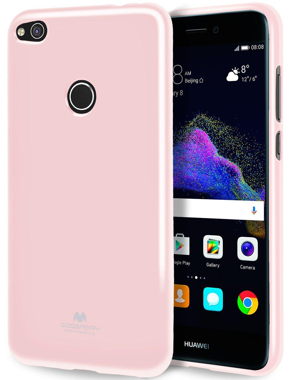 Pouzdro / kryt pro Huawei P8 LITE / P9 LITE (2017) - Mercury, Jelly Pink