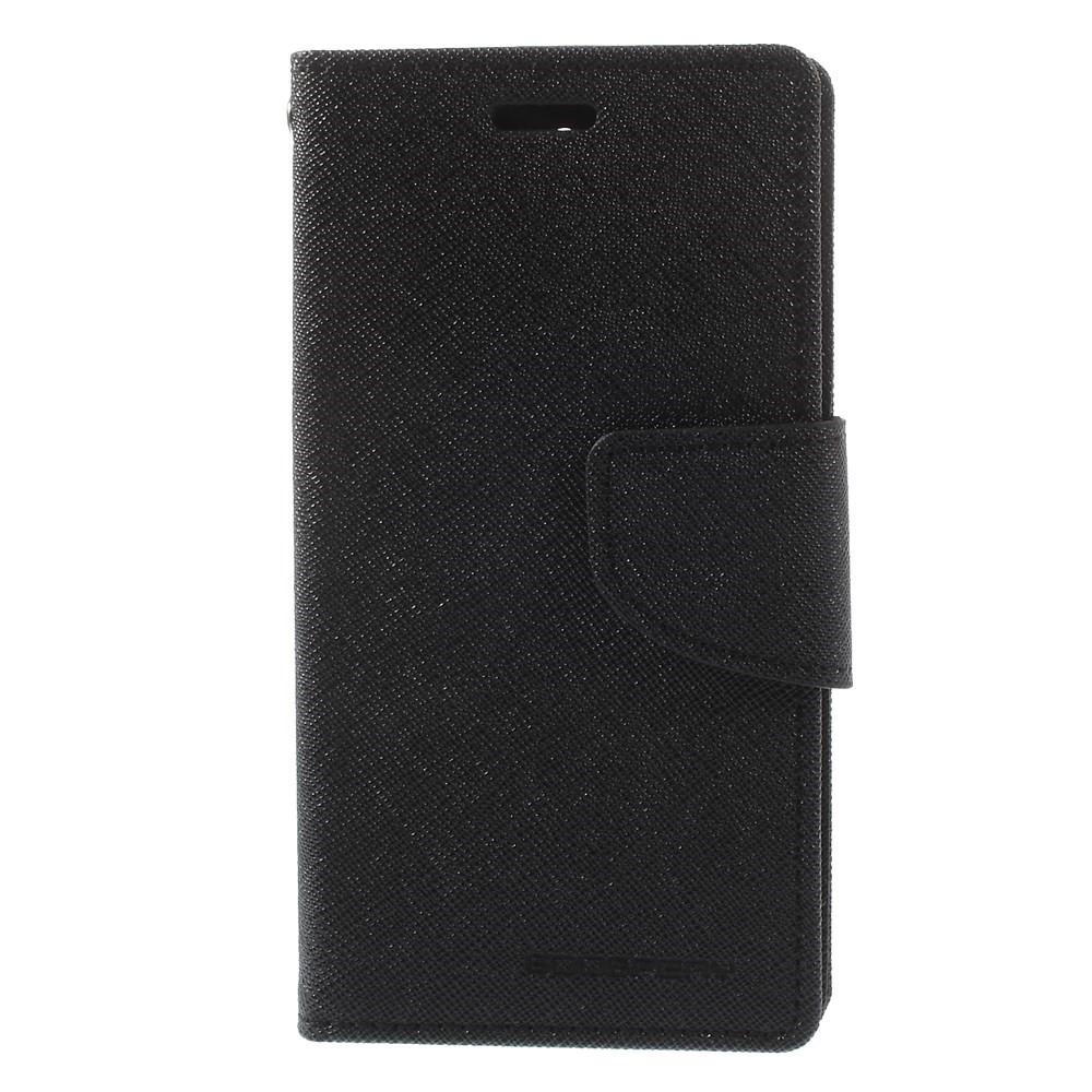 Pouzdro / kryt pro SONY XPERIA XA1 G3121 - Mercury, Fancy Diary Black/Black