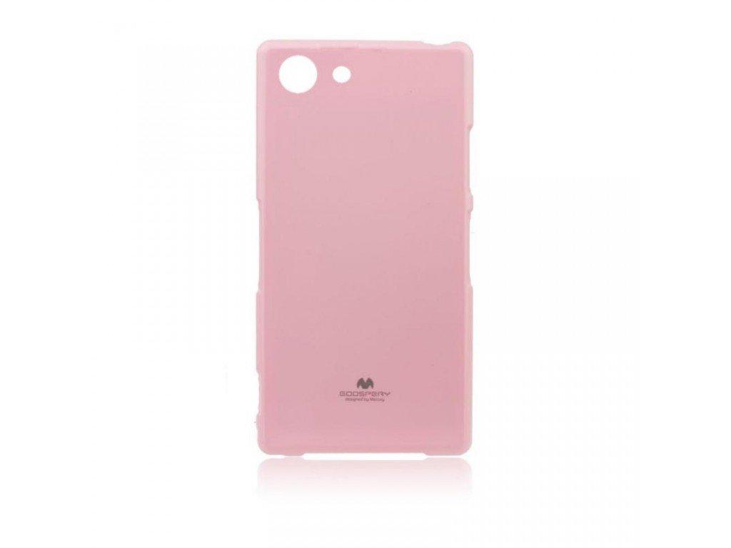Pouzdro / kryt pro SONY Xperia Z3 D6603 - Mercury, Jelly Pink