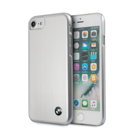 Ochranný kryt pro iPhone 7 / 8 - BMW, Aluminium Back Black